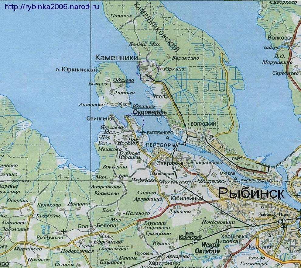 скачать карта рыбинск - фото 7